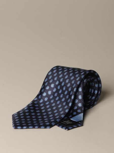 Ermenegildo Zegna silk tie with paisley pattern
