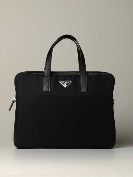Prada nylon briefcase bag