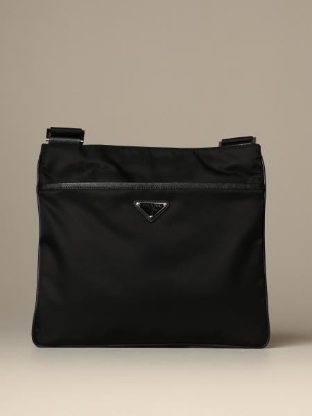 Prada bag in nylon and saffiano leather