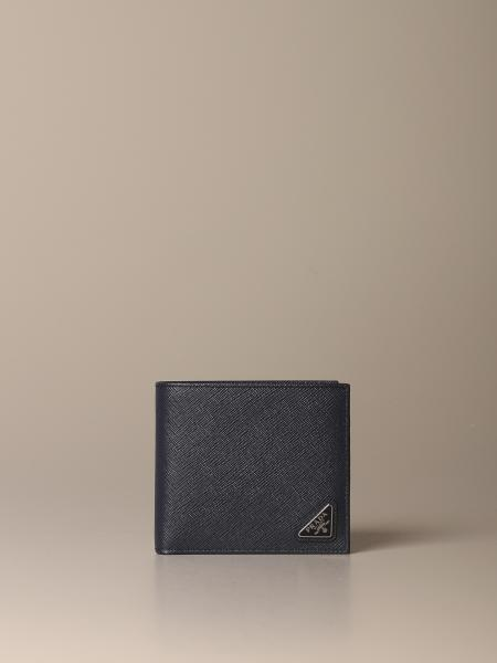 Prada wallet in saffiano leather