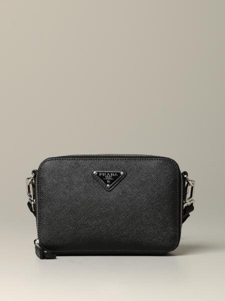Prada shoulder bag in saffiano leather