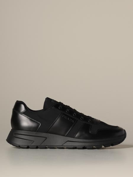 Prax 01 Prada 科技面料皮革运动鞋