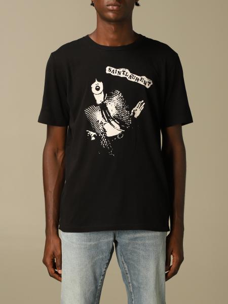 T-shirt men Saint Laurent