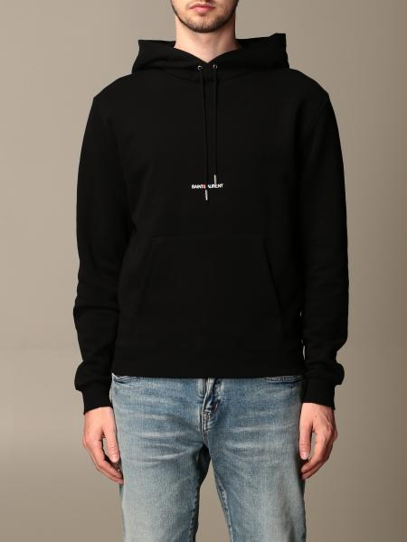 Saint Laurent sweatshirt with hood and logo