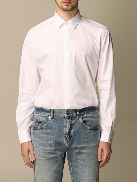 Camicia Saint Laurent in cotone basic