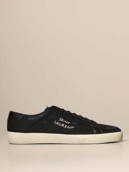 Sneakers Court Classic SL/06 Saint Laurent in tela e pelle