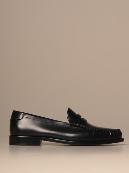 Saint Laurent moccasin in leather with sleeper