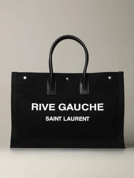 Noe Rive Gauche Saint Laurent tote bag in canvas and leather