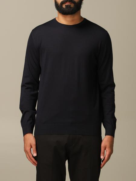 Prada basic sweater in worsted wool