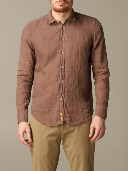 Camicia Brooklyn BD Baggies in lino slim