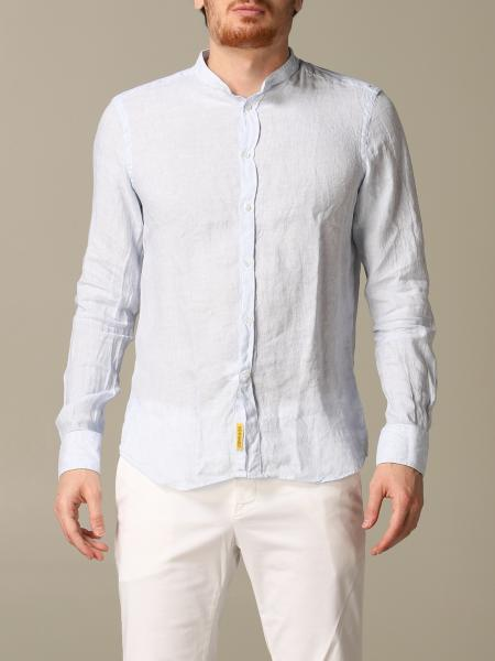 Brooklyn BD Baggies shirt in slim linen