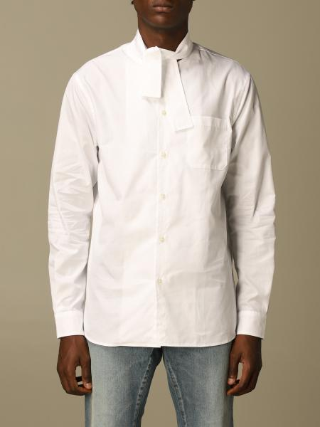 N ° 21 cotton shirt with knot collar