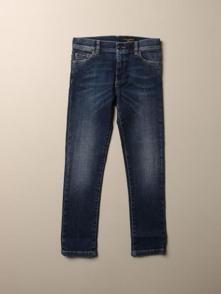 Dolce & Gabbana slim stretch jeans with logo