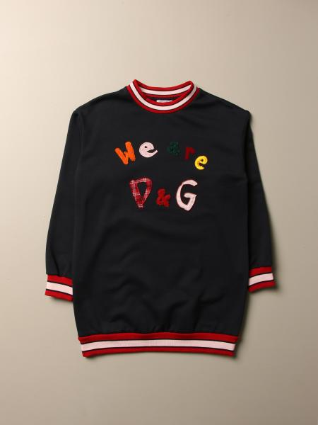 Felpa Dolce & Gabbana con logo we are D&G