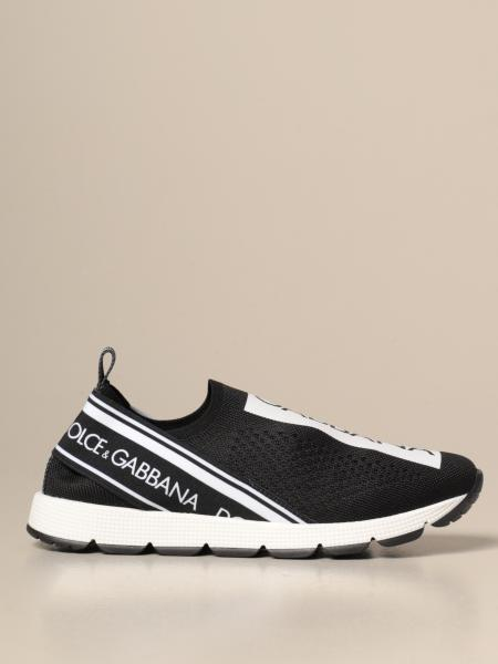 Sneakers Dolce & Gabbana slip on con logo