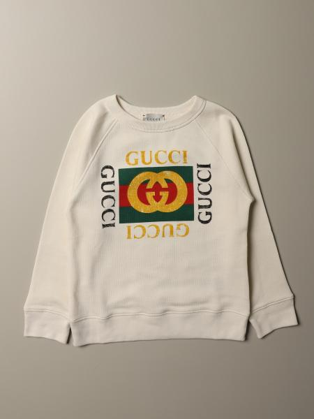Gucci cotton jersey sweatshirt with Vintage print