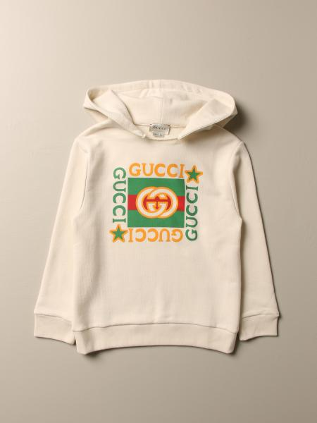 Gucci cotton sweatshirt with vintage print