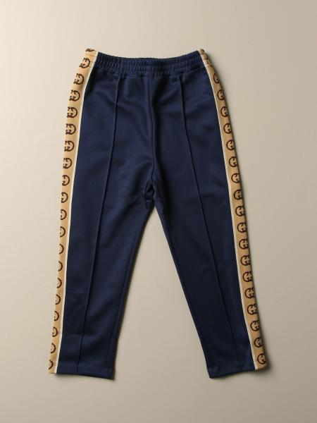 Gucci jogging trousers in technical jersey with GG bands