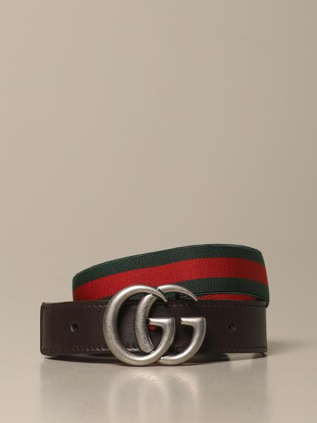 Marmont Gucci belt in Web ribbon