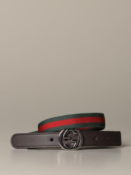Gucci belt with Web ribbon
