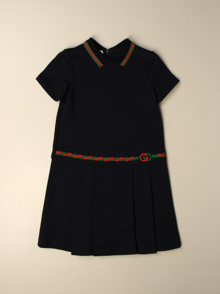 Gucci dress with Web logo