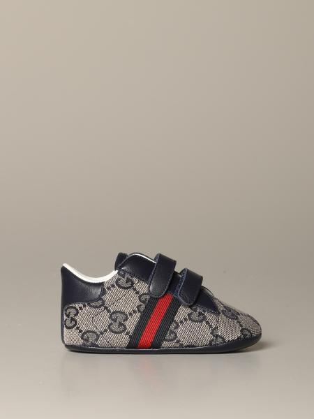 Gucci Baby Ace sneakers with Web bands and Original GG Supreme motif