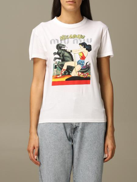 T-shirt women Miu Miu