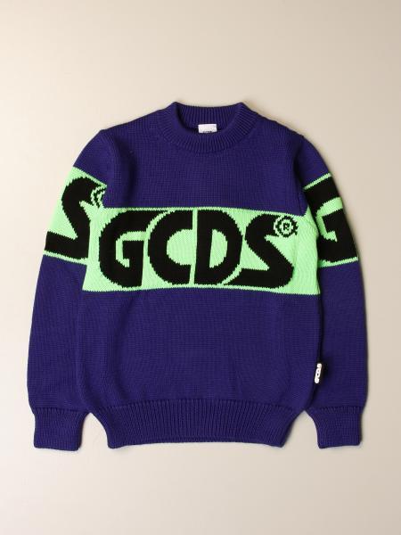 Pullover GCDS in maglia con logo