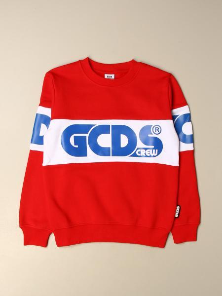Felpa GCDS in cotone con big logo