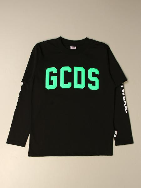 GCDS cotton t-shirt with logo