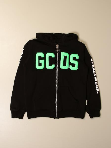 Gcds kids: Gcds cotton sweatshirt with logo