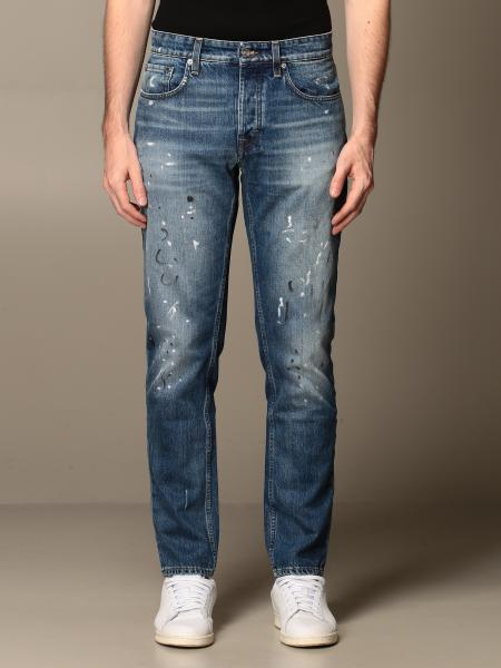Department Five: Keith Department Five jeans in regular stretch used denim