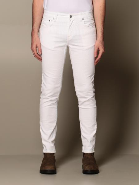 Pantalone pantalone department five in velluto 1000 righe Department Five - Giglio.com