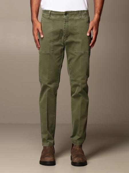 Department Five kargo trousers in gabardine