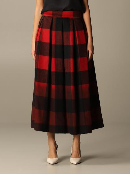 Department Five skirt in check wool