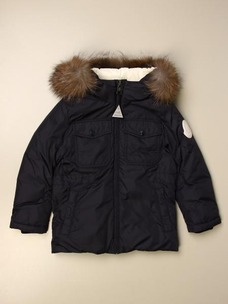 Moncler Menue parka in nylon with hood