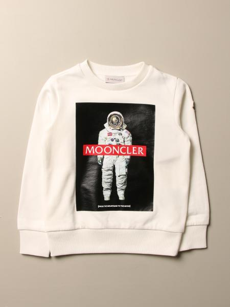 Moncler: Moncler sweatshirt in cotton with astronaut print
