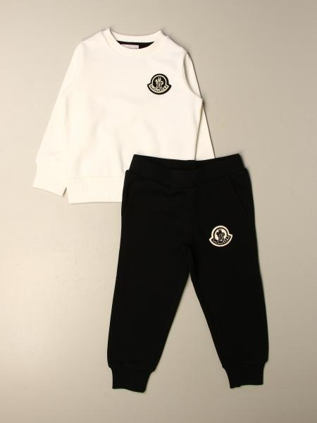 Crewneck sweatshirt with logo and trousers