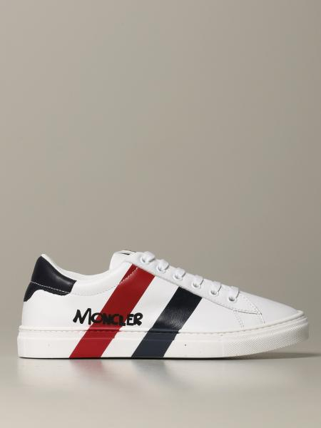 Mathieu Moncler sneakers in leather with logo