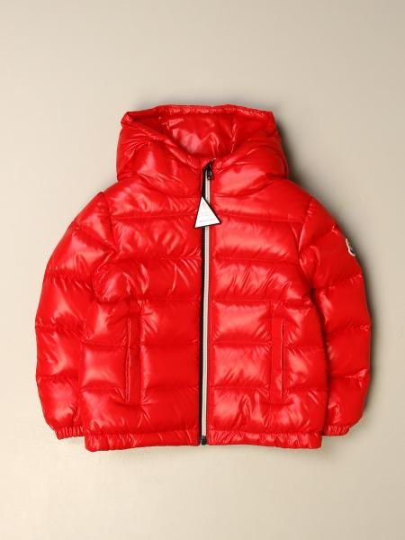 New Aubert Moncler down jacket in padded and shiny nylon
