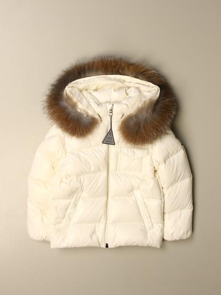 K2 piumino lucido con cappuccio staccabile pelo