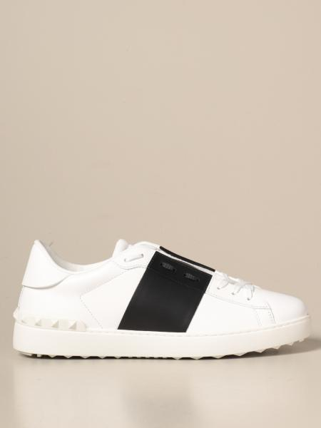 Valentino Garavani Open sneakers in leather with band