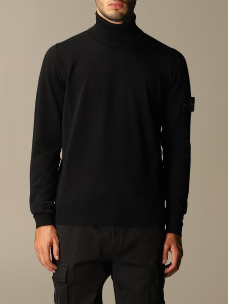 Stone Island turtleneck in Merinos wool