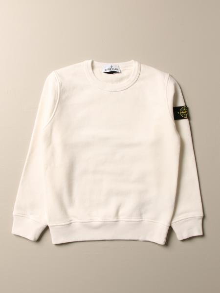 Felpa Stone Island Junior in cotone
