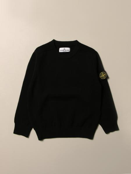 Stone Island Junior bambino: Pullover Stone Island Junior in lana