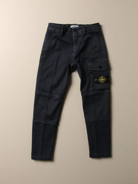 Trousers men Stone Island Junior