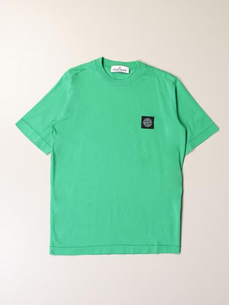 Stone Island Junior: Stone Island Junior T-shirt in cotton with logo