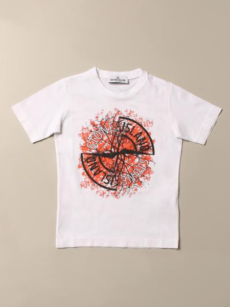 T-shirt enfant Stone Island Junior