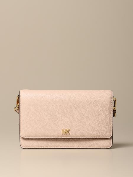 Michael Kors women: Michael Michael Kors mini leather clutch bag