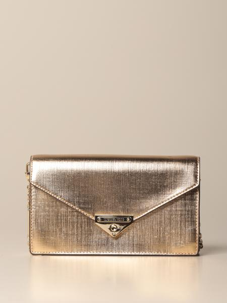 Michael Kors women: Michael Michael Kors Grace Bag in metallic saffiano leather
